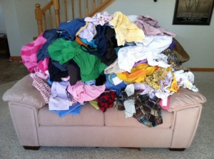 Laundry Pile
