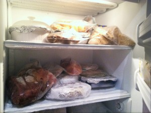 Freezer full of meals! :)
