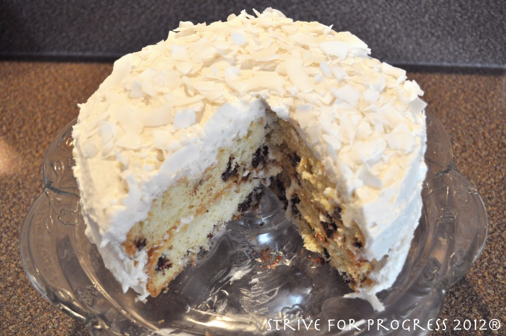 Coconut Chocolate Chip Cake Recipes — Dishmaps