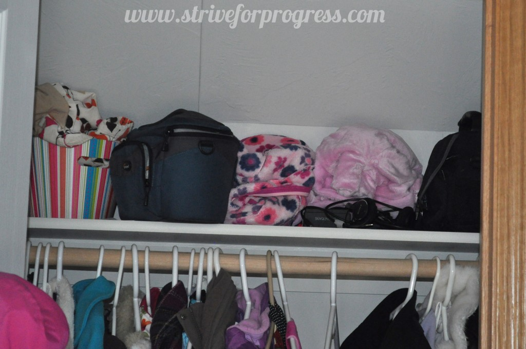 Savvy Home: The Coat Closet by Mae at Strive For Progr