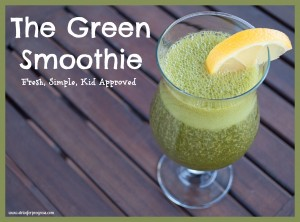 My Green Smoothie & Pre-Coffee Tip!
