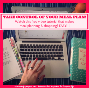 Take Control Of Your Meal Plan!