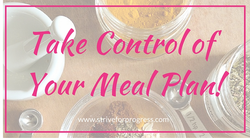 Meal planning made simple and easy! Take your time back with this one trick!  www.striveforprogress.com/blog