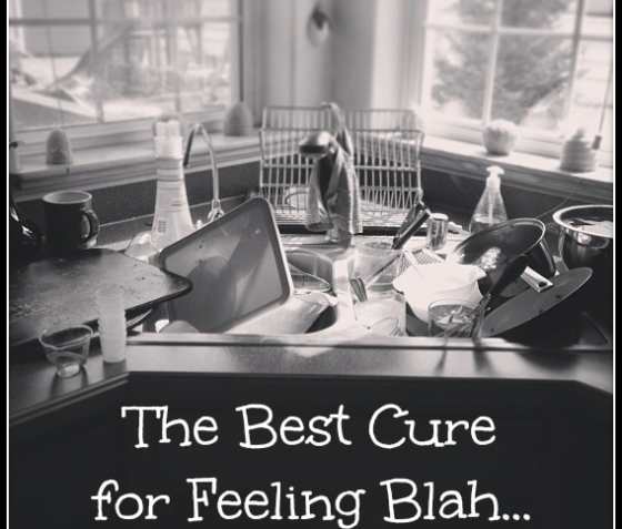 The Best Cure for Feeling Blah by Natalie Hixson