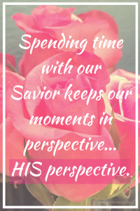 Once you have spent even ONE morning with Him, you will begin to see just how significant your life is.